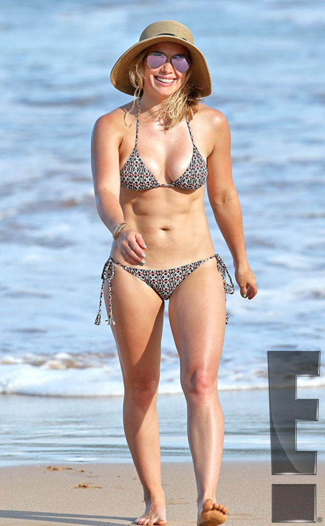 hilary duff hd bikini and nude images