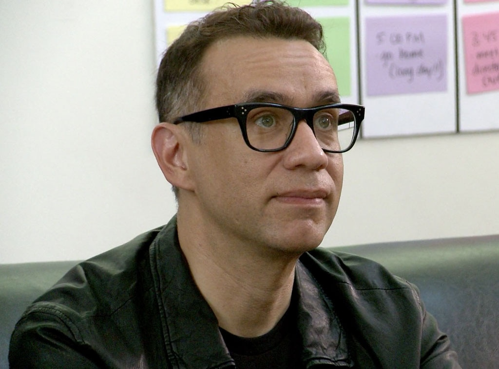 fred armisen chandelier