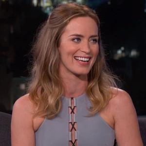 Emily Blunt, Jimmy Kimmel Live