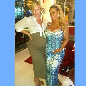 Baby Bump Twins! Coco Flaunts Growing Belly Alongside Pregnant <i>Law & Order: SVU</i> Star Kelli Giddish