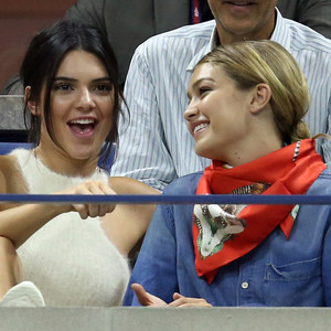 Kendall Jenner, Gigi Hadid, US Open