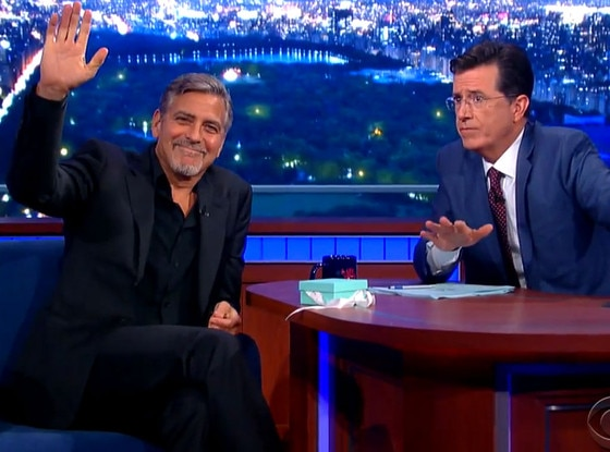 George Clooney, The Late Show
