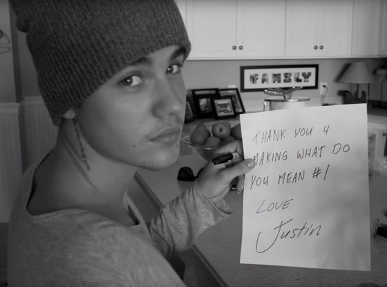 Justin Bieber, What Do You Mean? Video