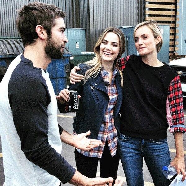 Chace Crawford, Rebecca Rittenhouse, Instagram