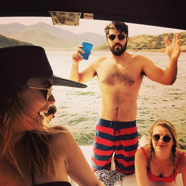 Scott Michael Foster, Rebecca Rittenhouse, Instagram