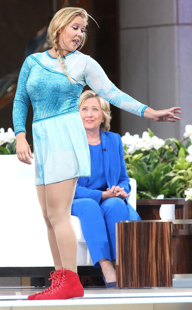 Hillary Clinton, Amy Schumer, The Ellen DeGeneres Show