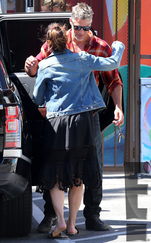 Sandra Bullock, Bryan Randall, PDA, Exclusive