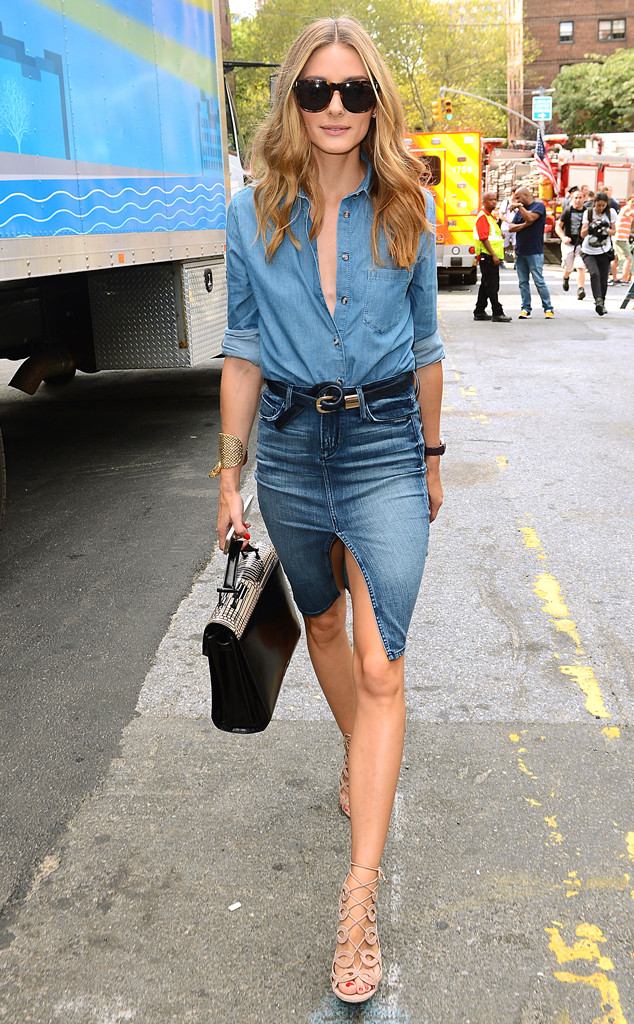Olivia Palermo, Denim on Denim