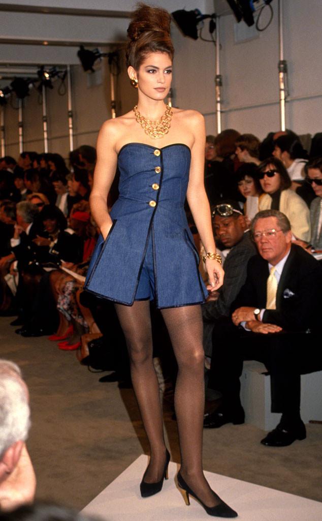 Cindy Crawford, Donna Karan Spring 1991