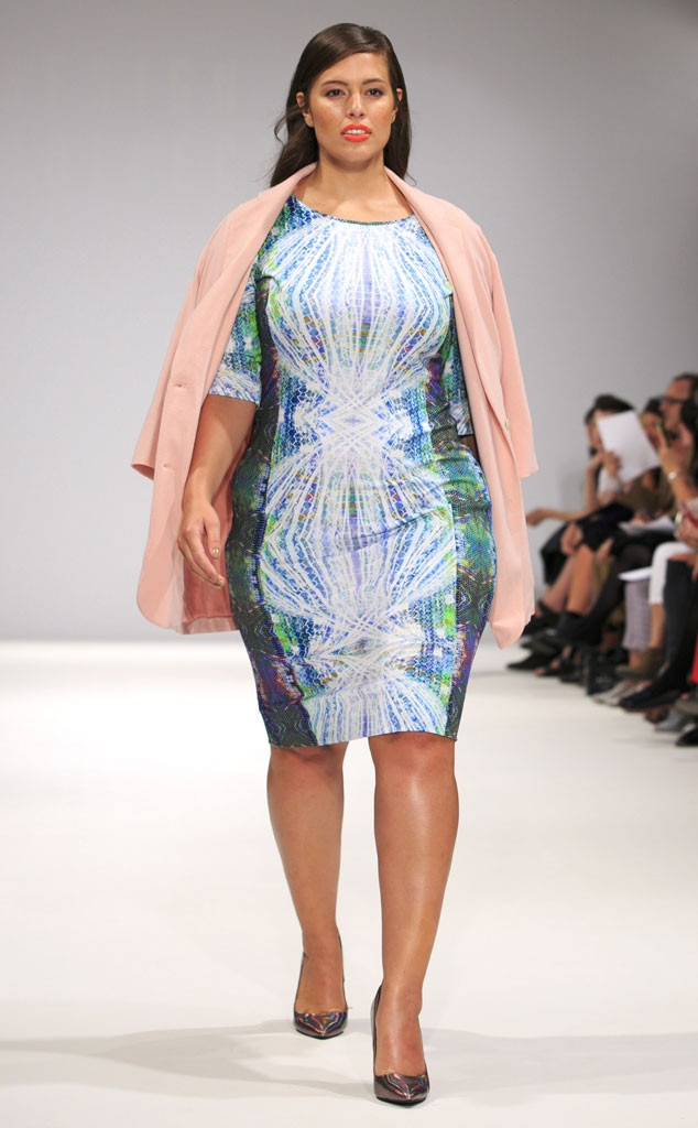 Ashley Graham, Evans Runway Show
