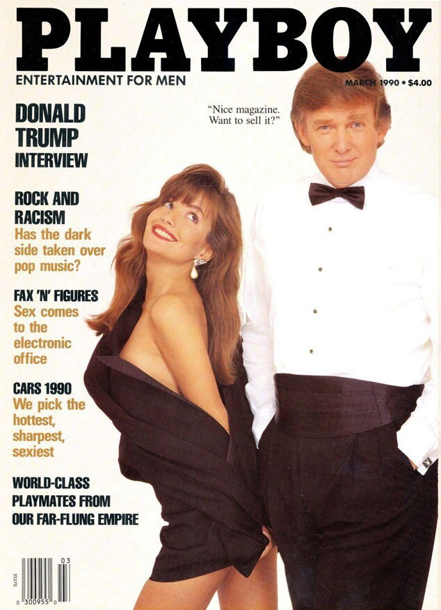 Donald Trump, Brandi Brandt, Playboy Magazine