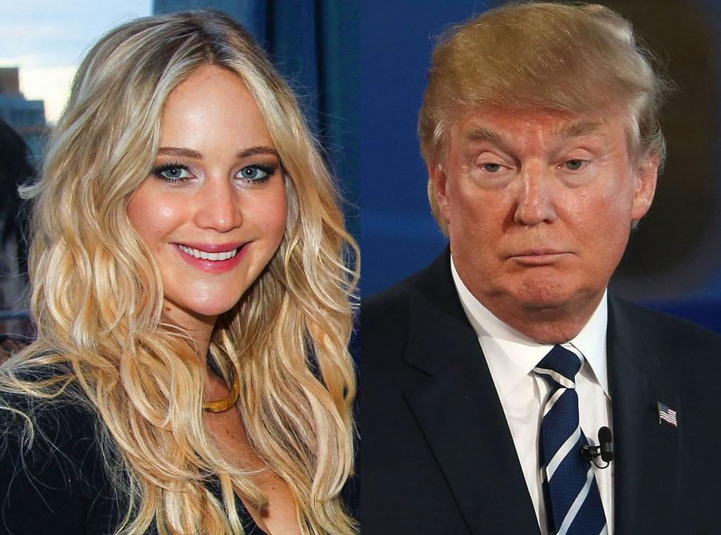 Jennifer Lawrence, Donald Trump