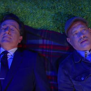 Stephen Colbert, Tom Hanks