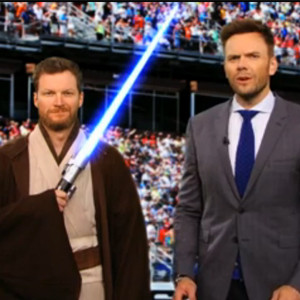 Joel McHale, Dale Earnhardt Jr., The Soup