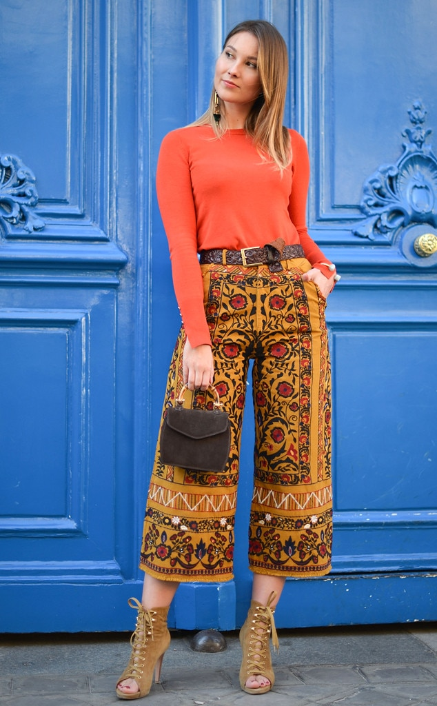 Angelica Ardasheva From Street Style At Paris Fashion Week