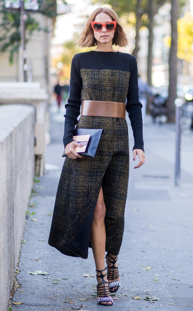Candela Novembre From Street Style At Paris Fashion Week