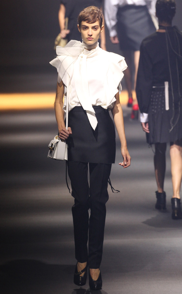 Lanvin from Best Looks at Paris Fashion Week Spring 2016 ...
