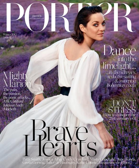 Porter, Marion Cotillard