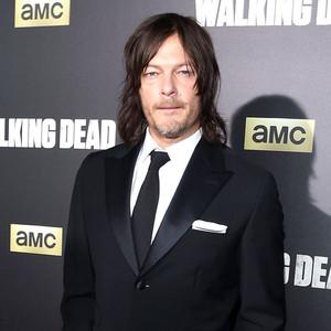 Walking Dead Premiere, Norman Reedus