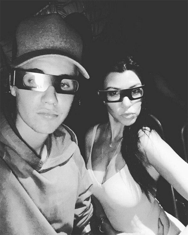 Justin Bieber, Kourtney Kardashian, Universal Studios Hollywood - Halloween Horror Nights
