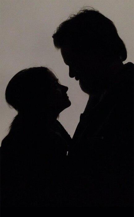 Jim Carrey, Cathriona White, Silhouette