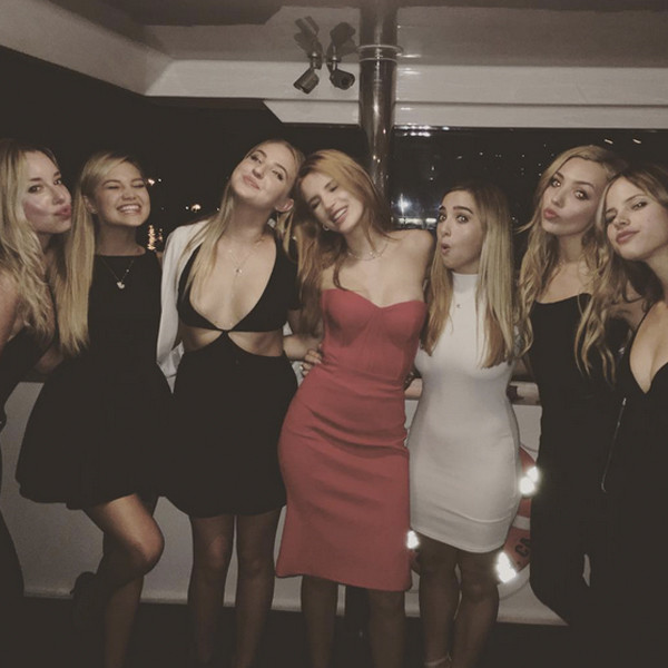 Inside Bella Thorne S 18th Birthday Party Yachts Private