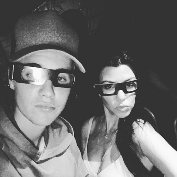 Justin Bieber, Kourtney Kardashian, Halloween 2015