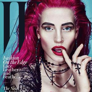Jessica Chastain, W Magazine