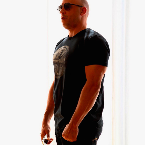 Vin Diesel Flashes His Rock-Hard Abs After Receiving ...
