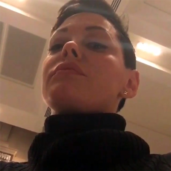 Rose mcgowan cell phone video