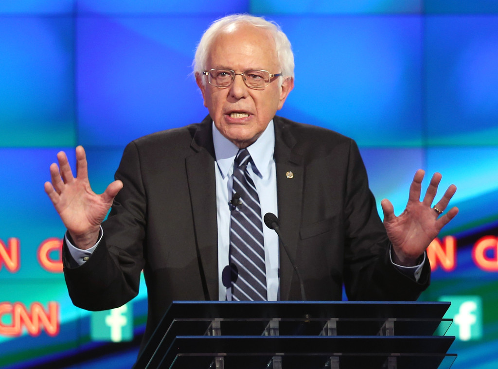 Democratic Debate, Bernie Sanders