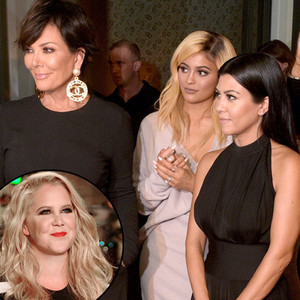 Amy Schumer Has ''Nothing But Love'' for the Kardashians, Wants Women ''to Be Happy in Their Own Skin''