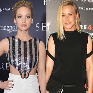 Meryl Streep, Jennifer Lawrence, Patricia Arquette, Salma Hayek