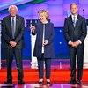 Democratic Debate, Jim Webb, Bernie Sanders, Hillary Rodham Clinton, Martin O'Malley, Lincoln Chafee