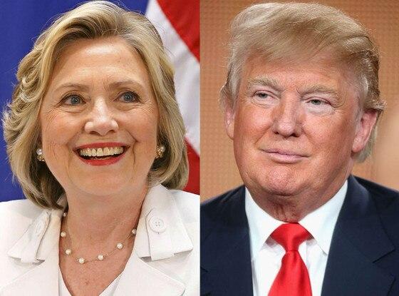 Výsledek obrázku pro Donald Hillary
