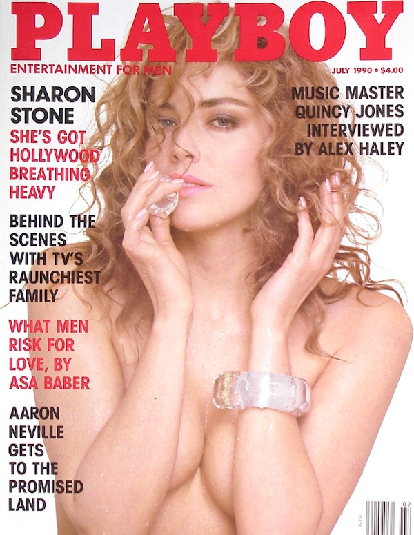 sharon stone nude in playboy