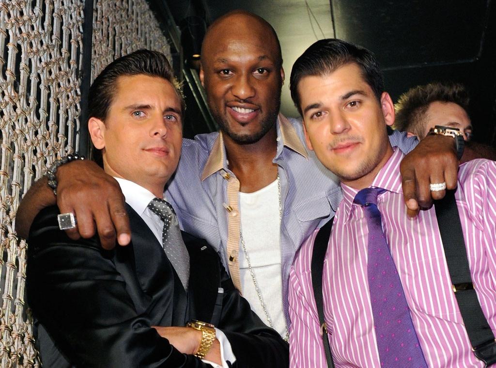 Scott Disick, Lamar Odom, Robert Kardashian Jr, 2011