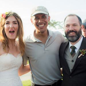 Barack Obama Crashes Wedding