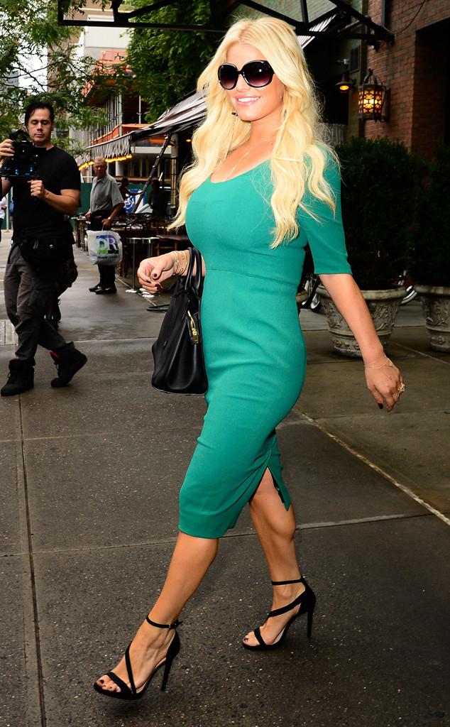 Jessica Simpson Street Style Look #8