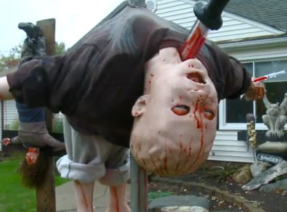 ohio scary realistic halloween decorations - Halloween Decorations Scary