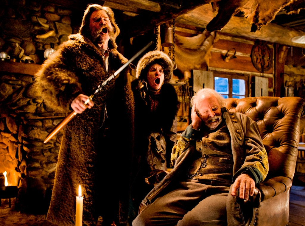 holiday movie preview,  the hateful eight