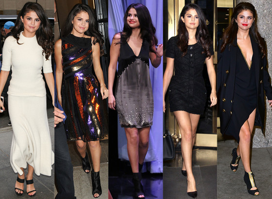 Selena Gomez Basically Shows Off An Entire Wardrobe In 48
