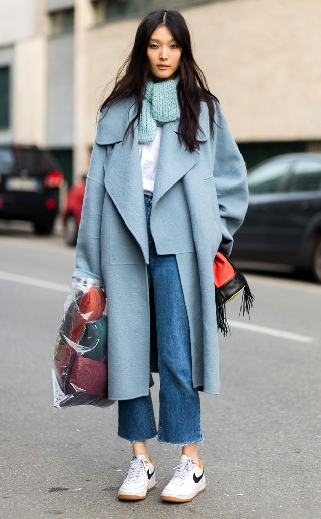 Sung Hee Kim From Street Style Scarves E News