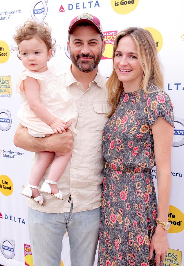 Jimmy Kimmel, Jane Kimmel, Molly McNearney