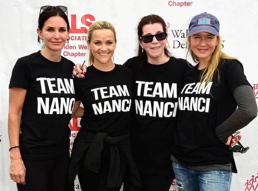 Courteney Cox, Reese Witherspoon, Nanci Ryder, Renee Zellweger