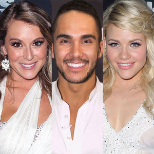 Alexa Penavega, Carlos Penavega, Witney Carson, Dancing with the Stars