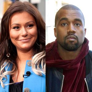 JWoww, Jenni Farley, Kanye West