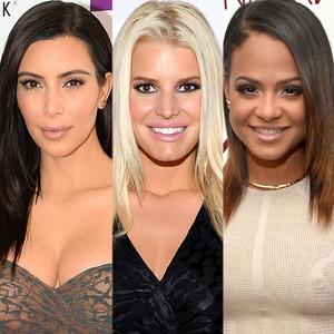 Kim Kardashian, Jessica Simpson, Christina Milian
