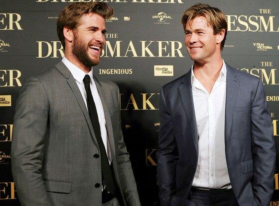 Liam Hemsworth, Chris Hemsworth