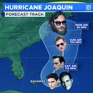 Joaquin Phoenix, Hurrican